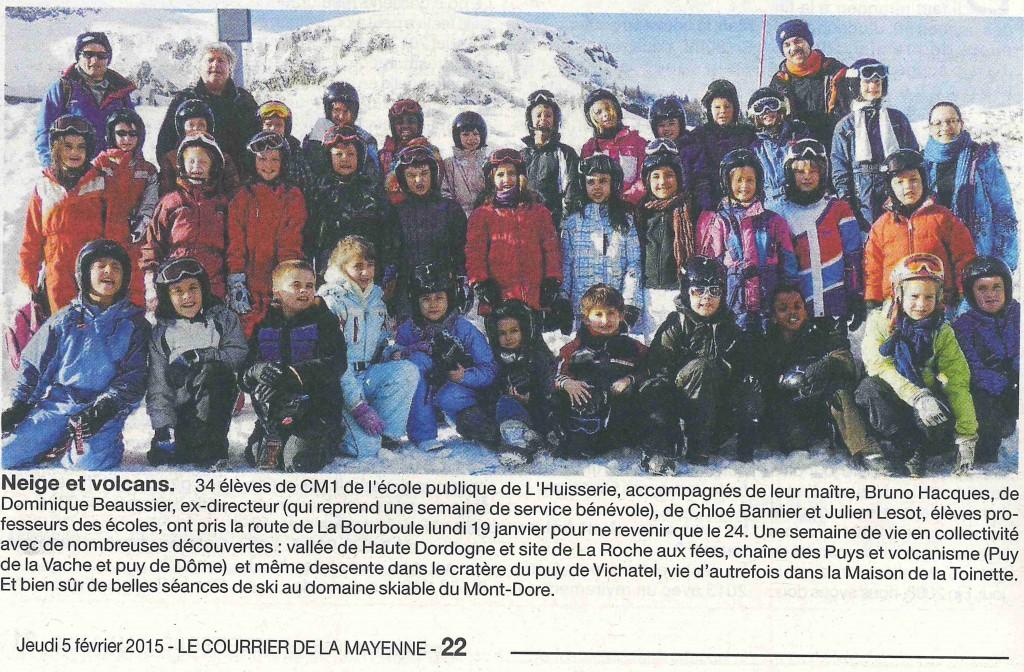 classe neige